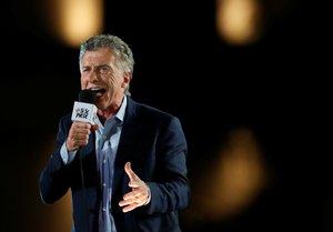 Macri se ha dado sendos baños de masas en sus dos últimos grandes actos.