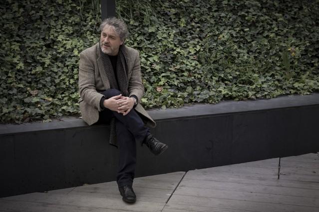 Manuel Rivas, en Barcelona.
