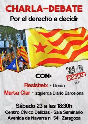 Una jutge suspèn l'acte proreferèndum català de Saragossa