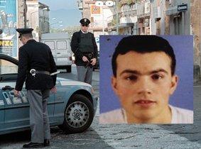 El mafioso Marco di Lauro detenido a las afueras de Nápoles.