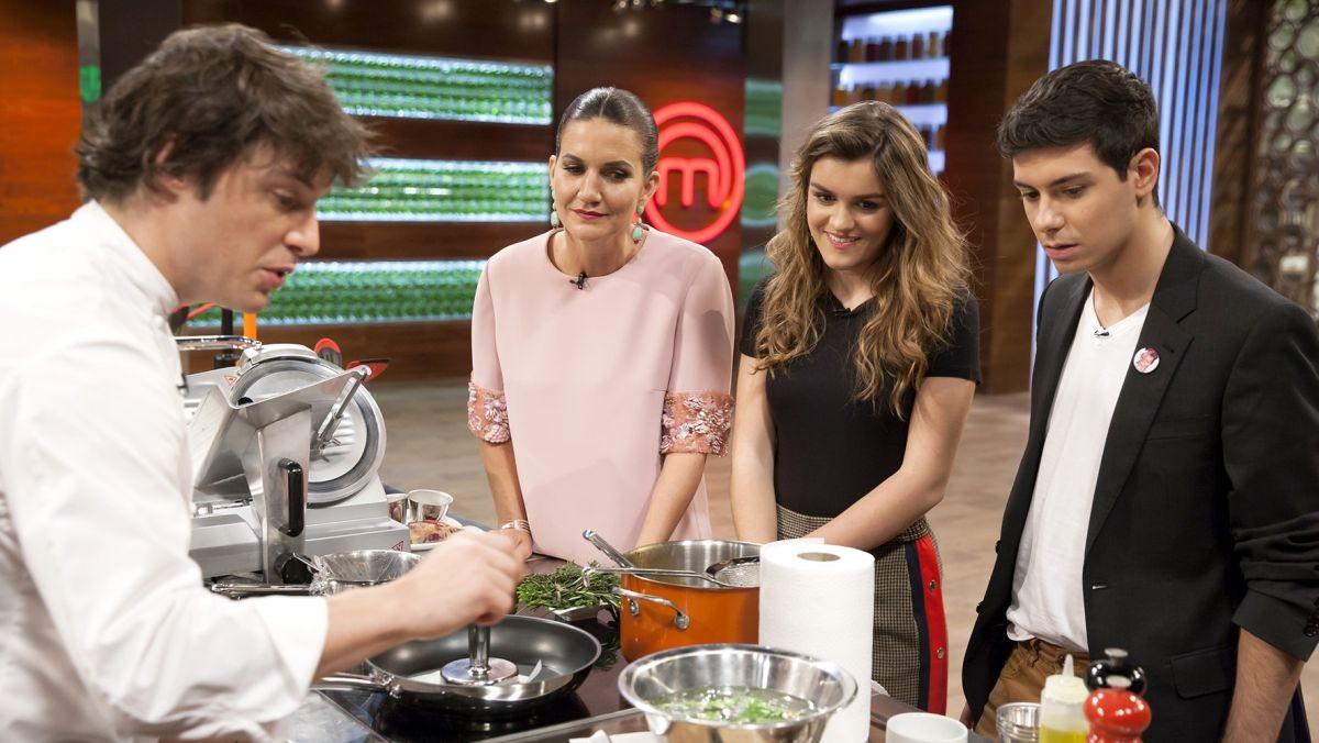 Grabación del programa Master Chef IV programa 7