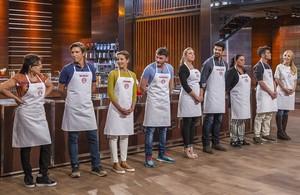 Los nueve concursantes iniciales de Masterchef celebrity, el nuevo porgrama de TVE.