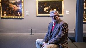 Miguel Falomir, director del Museo del Prado, en CaixaForum.