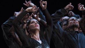 Un momento de la coreografía 'Zaguán', de Anrtonio Najarro.