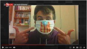 Godai García en 'FAQS' (TV-3).
