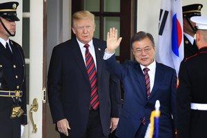 Moon aterrizará en EE.UU. el 10 de abril y se reunirá con Trump al día siguiente.