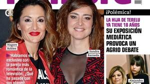 Nagore Robles y Sandra Barneda, en la portada de la revista Rumore.