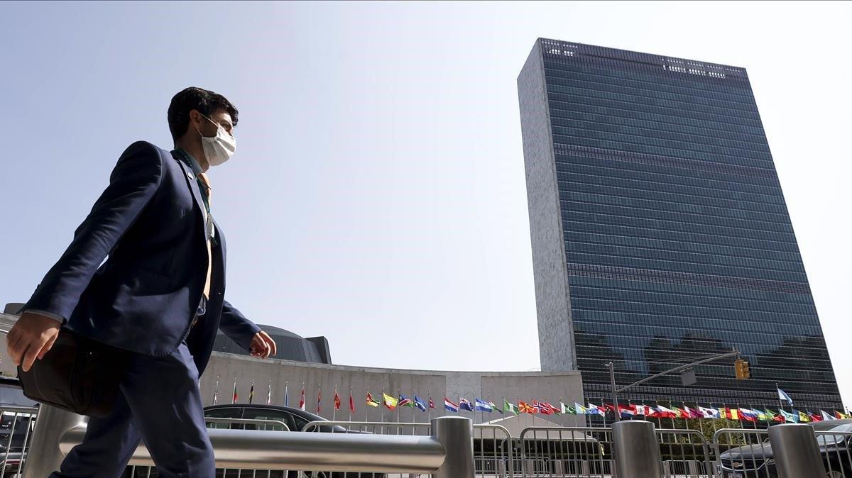 El edificio de la ONU en Nueva York.