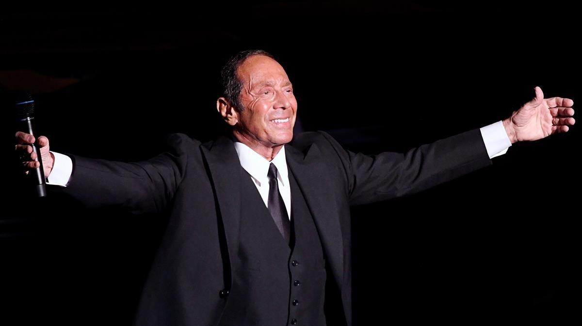 Paul Anka, en un concierto en Budapest el pasado martes 9 de julio