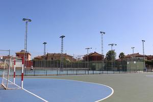 Polideportivo municipal de Gines, donde ha tenido lugar el torneo de fútbol sala.