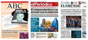 Prensa de hoy: Las portadas de los periódicos del martes 29 de octubre del 2019