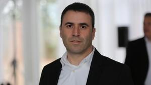 El portavoz municipal de Cs en el Ayuntamiento de Manresa,Andrés Rojo.