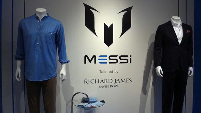 Prendas de la nueva colección de ropa de Leo Messi.