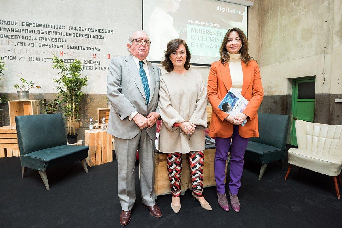 Presentación del informe Mujeres en la economía digital en España de DigitalEs