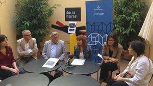 Presentación del Premio Ventura Ametller en Mataró.