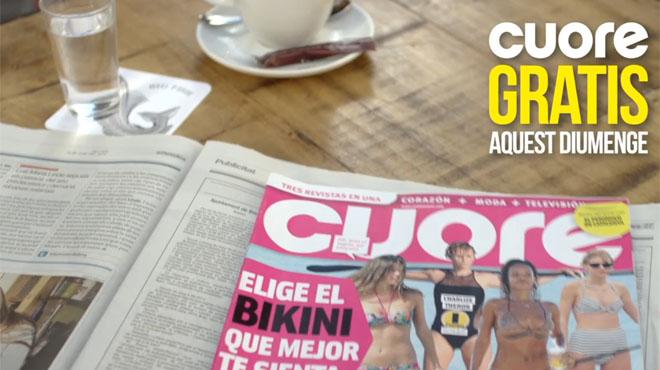 Promoció destiu dEl Periodico, et regala Cuore