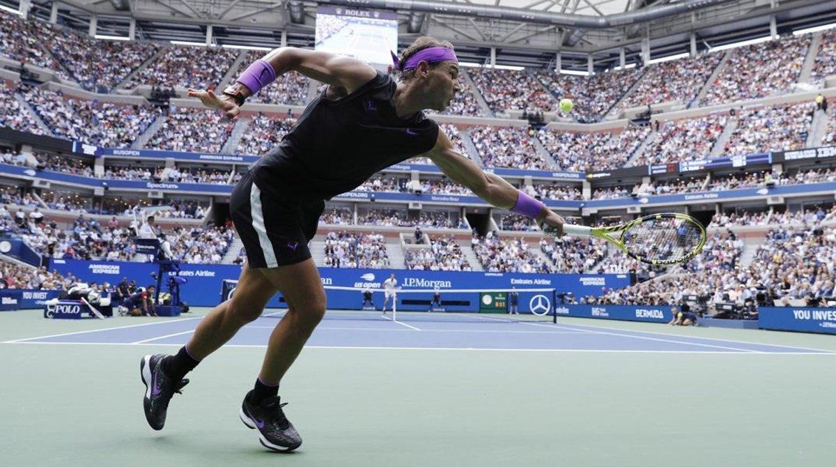 Rafa Nadal, en una de sus últimas actuaciones en el US Open.