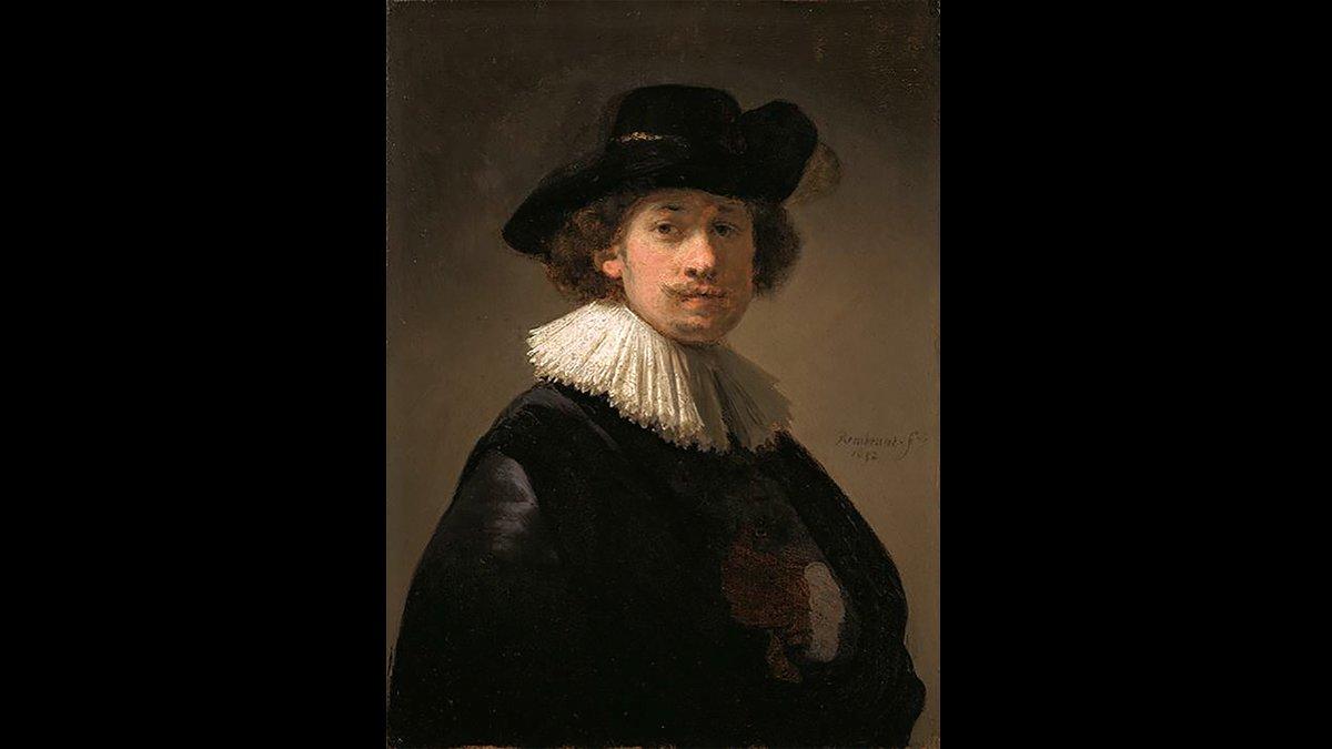Un autoretrat excepcional de Rembrandt, a la venda a Sotheby's