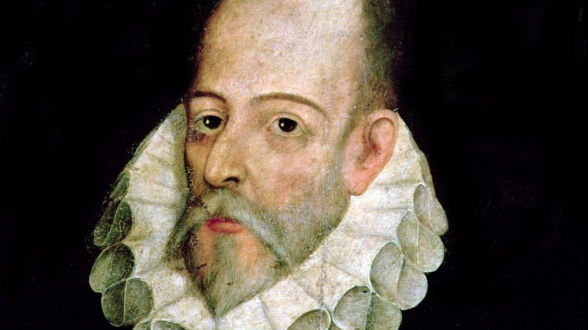 Retrato de Miguel de Cervantes atribuido aJuan de Jáuregui.
