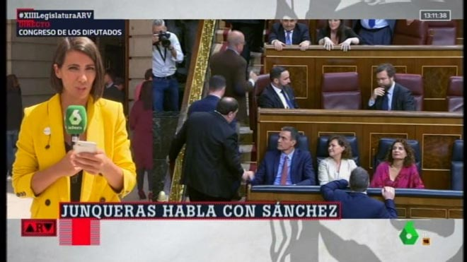'Escrache' en seu parlamentària