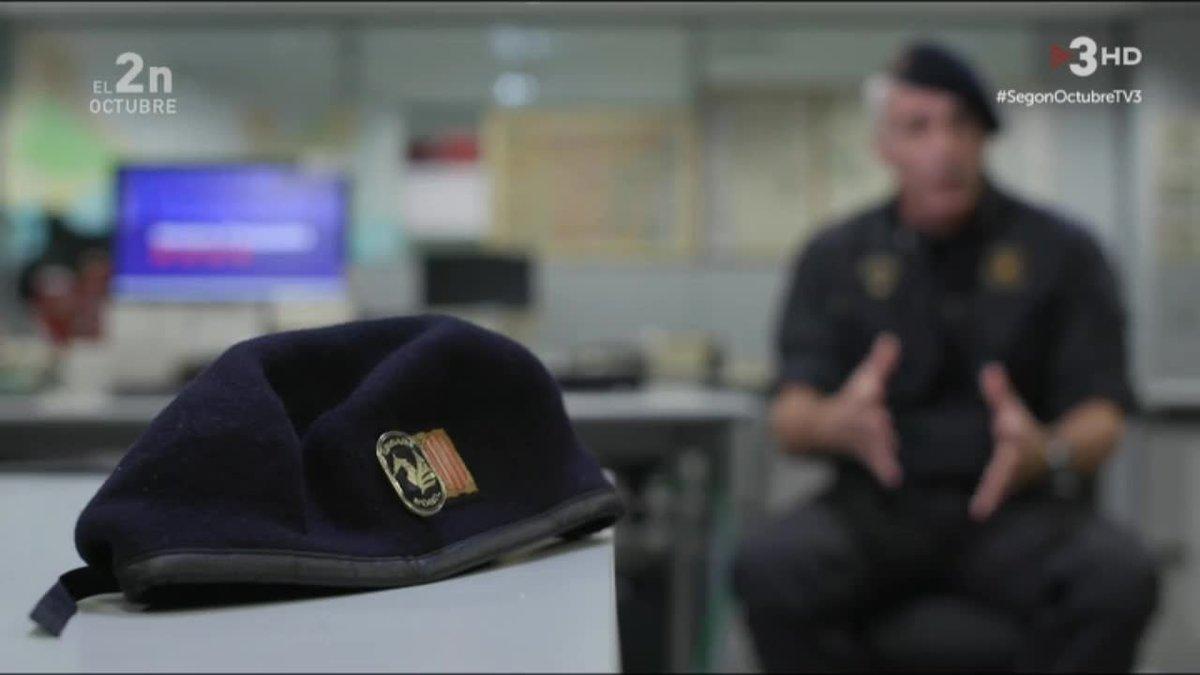 Un subinspector de los Mossos en TV-3.
