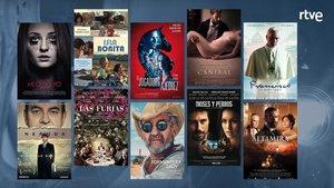 Algunas películas de las que ofrece este portal cinéfilo.