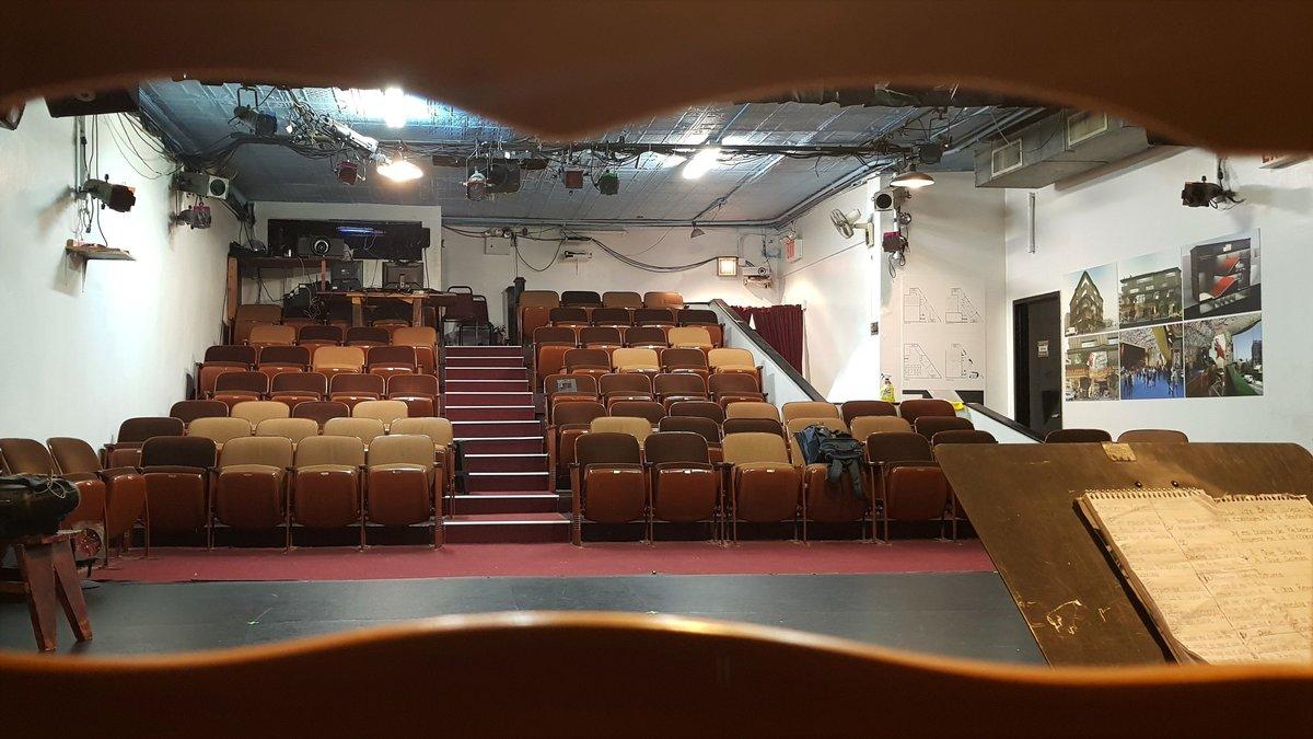 Teatro Thalía de Nueva York cerrado por el coronavirus
