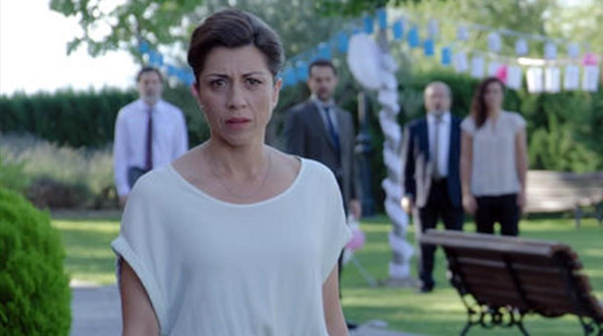 La actriz madrileña Alicia Borrachero, en la serie Bajo sospecha, protagonizará Tiempos de guerra.