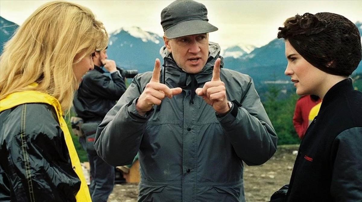 El cineasta David Lynch, durante el rodaje de la serie Twin Peaks.