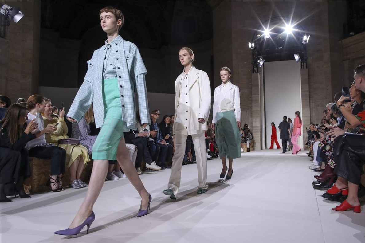 Diseños de Victoria Beckham.