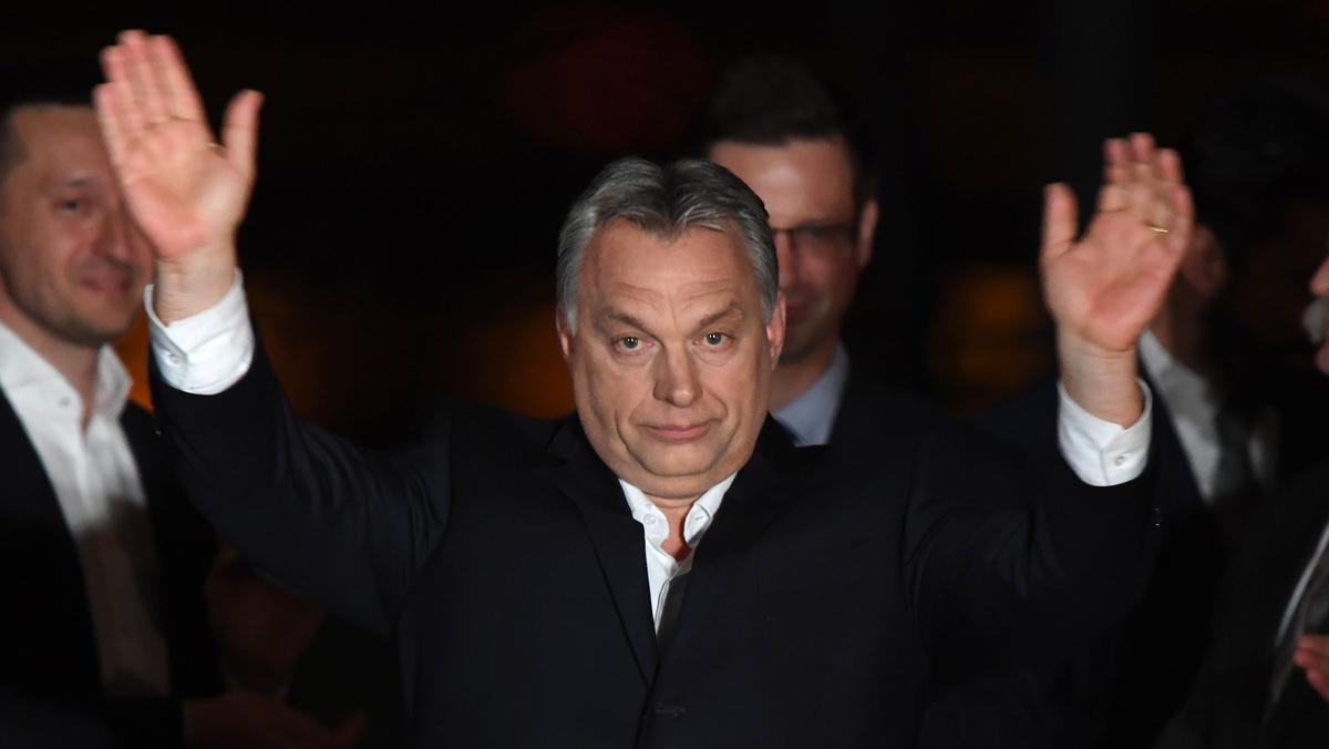 El ultraconservador nacionalista Viktor Orbán vence en las elecciones de Hungría