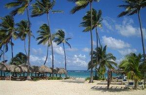 Una playa de República Dominicana.