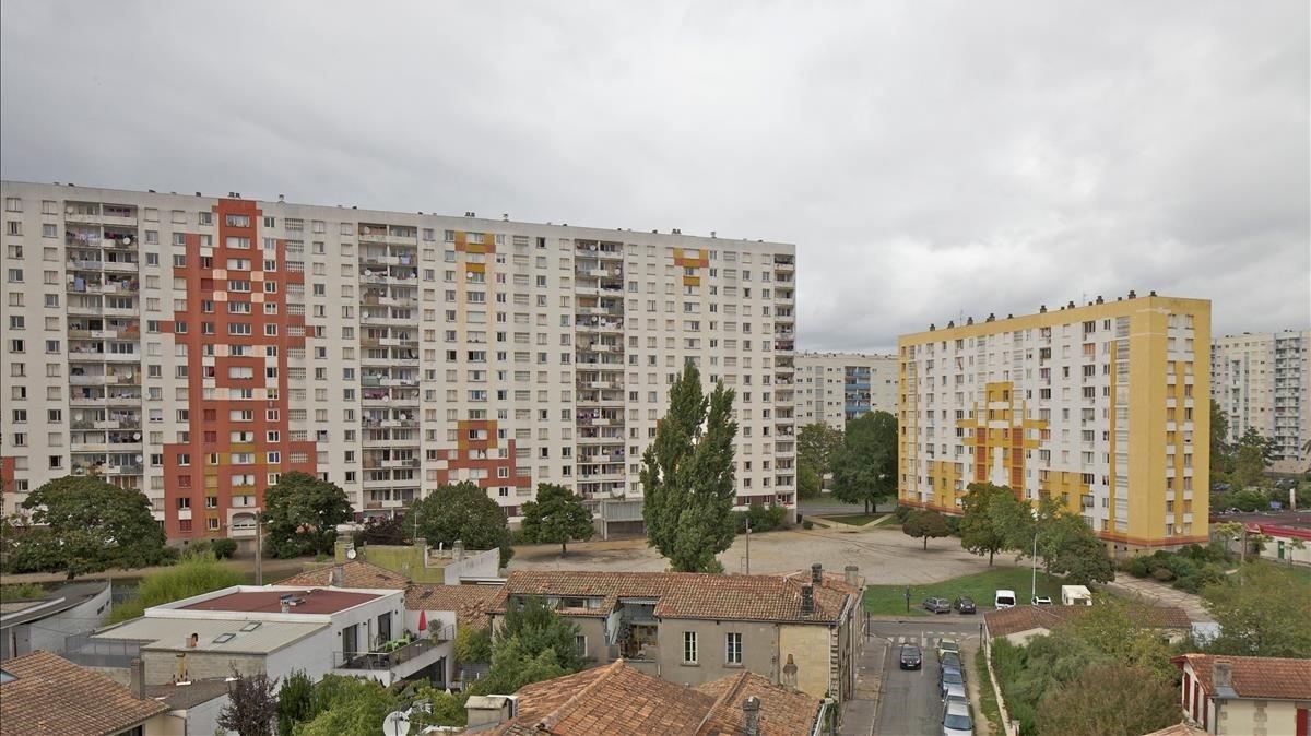 Los bloques de viviendas delGrand Parc de Burdeos.