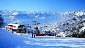 Estación de esquí de Crans-Montana.