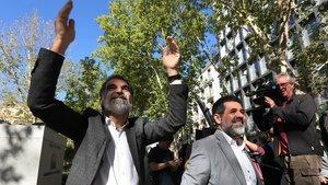 """Jordi Sànchez: """"Mai ens va arribar cap advertència o prohibició de cap jutjat ni de cap fiscalia"""""""