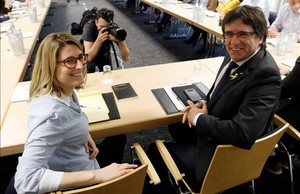 JxCat intentarà investir Puigdemont mentre lliga el pla d