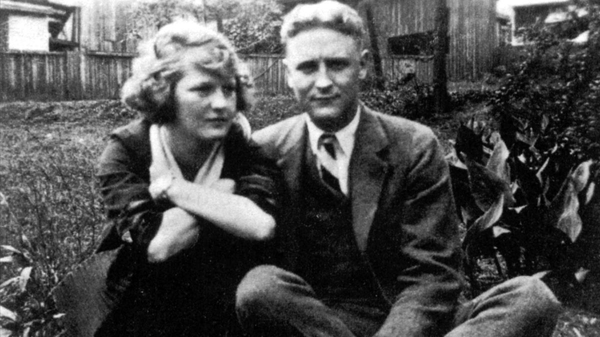 Zelda y Scott Fitzgerald.