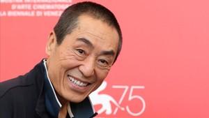 Zhang Yimou, este jueves en el festival de cine de Venecia.