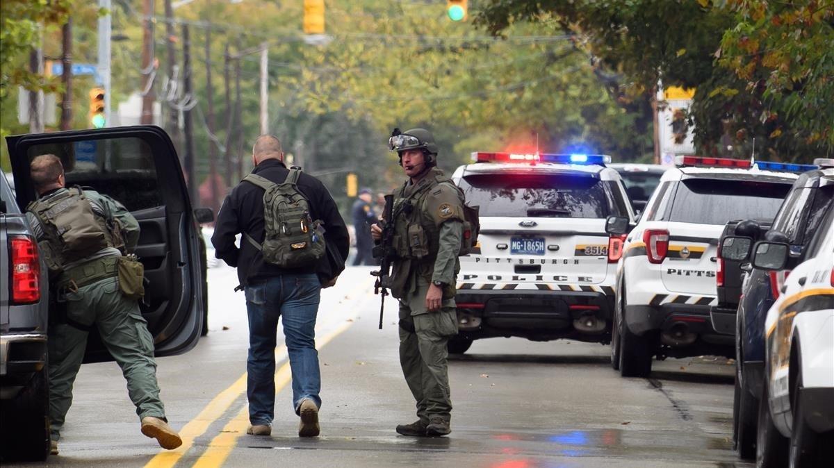 L'autor de la matança de Pittsburgh ja havia expressat el seu odi als jueus