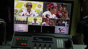 Retransmisión de una rueda de prensa del campeón del mundo de MotoGPMarc Márquez.
