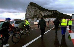 Paso fronterizo de Gibraltar.