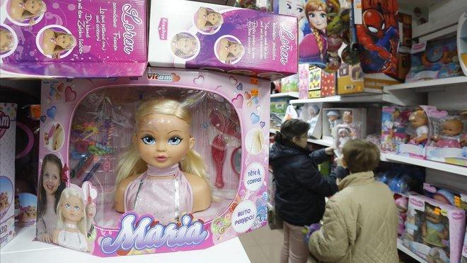 Ejemplo de un juguete que se comercializa especialmente para niñas.