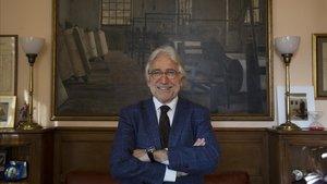 Entrevista con el presidente de Foment del Treball, Josep Sánchez Llibre.