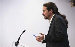 Iglesias s'obre a negociar però reclama que els seus ministres tinguin perfil polític