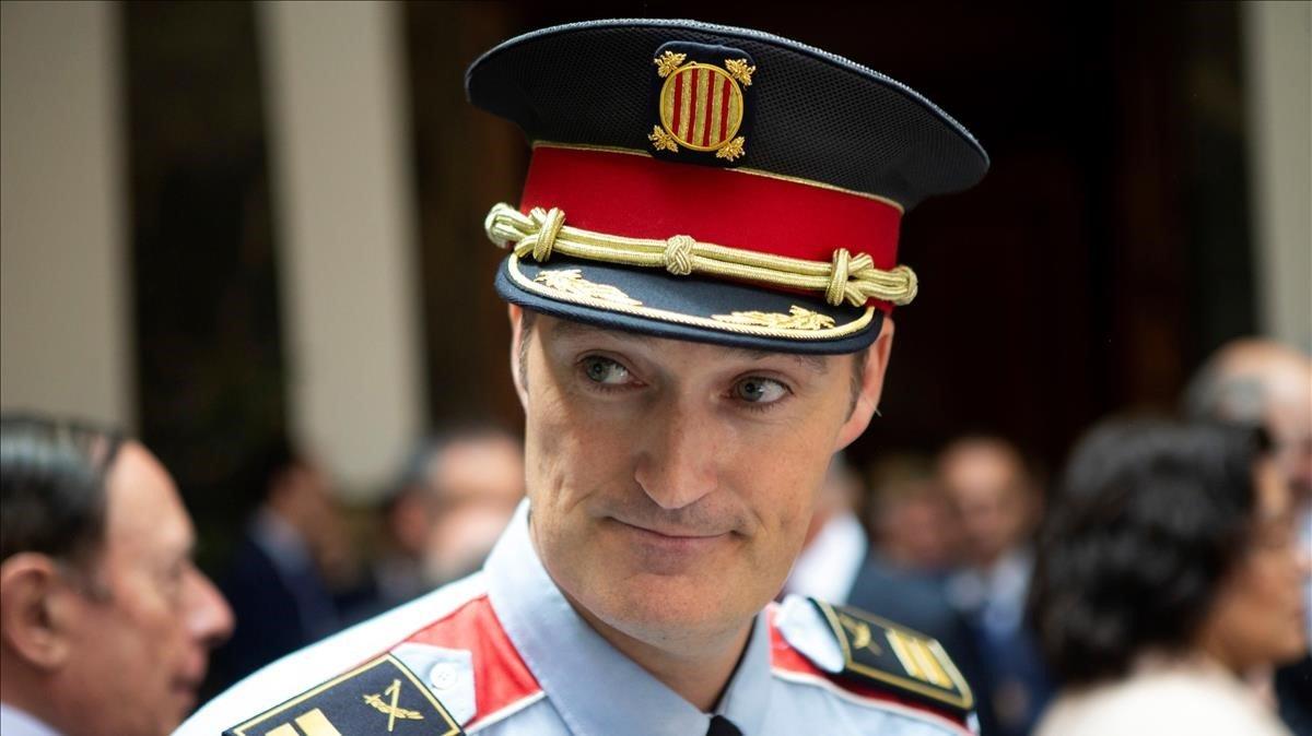 El nuevo jefe de los Mossos, Eduard Sallent.