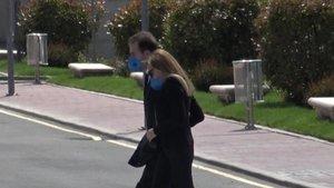 Alessandro Lequio y Ana Obregon, juntos en Madrid.