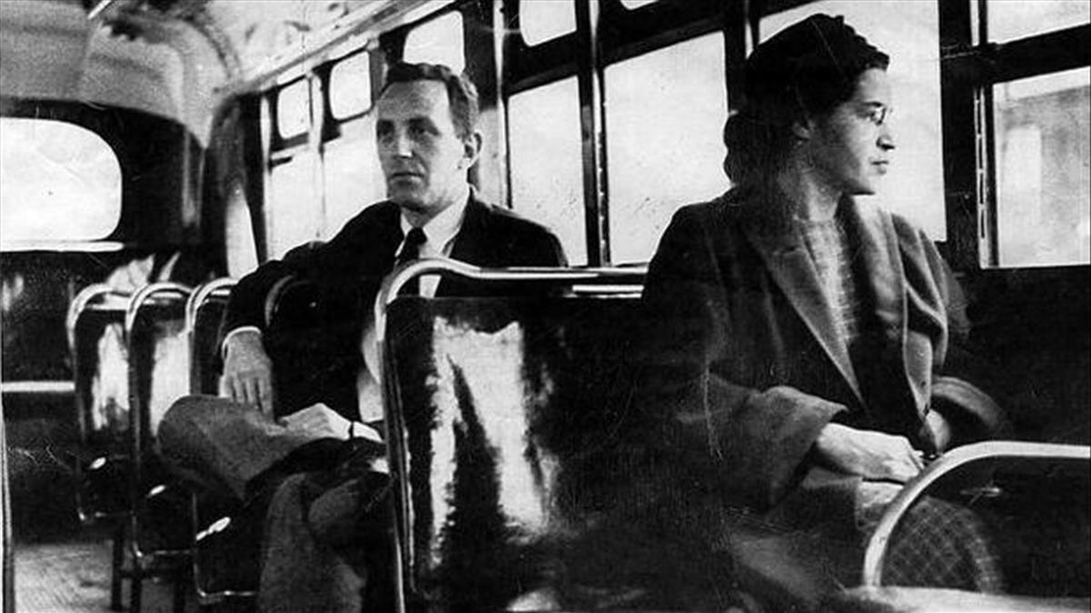 Rosa Parks recoge fruta en Lleida