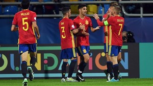 rpaniagua38934947 spain s midfielder marco asensio celebrates scoring with his170626185707