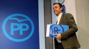 El coordinador general del Partido Popular, Fernando Martinez-Maillo.