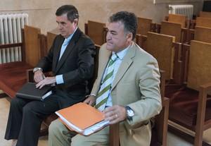 Jaime Matas y Pepote Ballester en el juicio